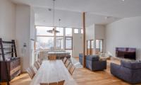 Hokkaidaway Living And Dining Area | Hirafu, Niseko