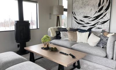 Koa Niseko Living Area | Hirafu, Niseko