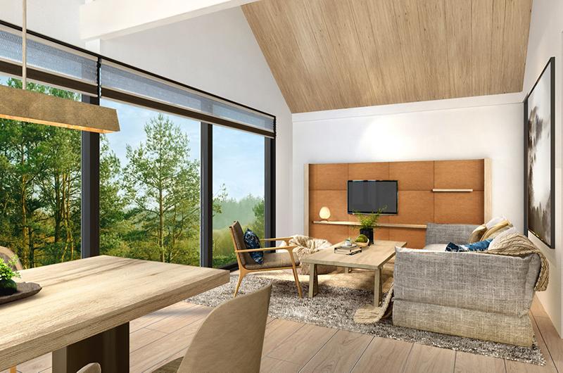 Koa Niseko Living and Dining Area | Hirafu, Niseko