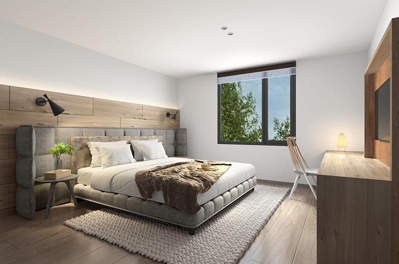 Koa Niseko Master Bedroom Area | Hirafu, Niseko