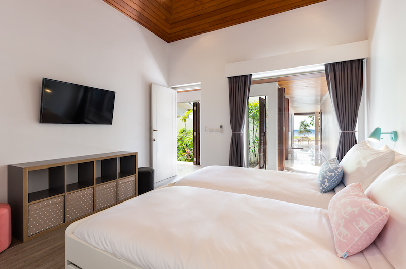 Villa Sand Twin Bedroom | Natai, Phang Nga