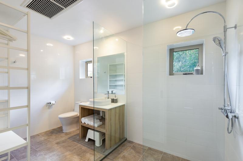 Villa Sand Bathroom   Natai, Phang Nga