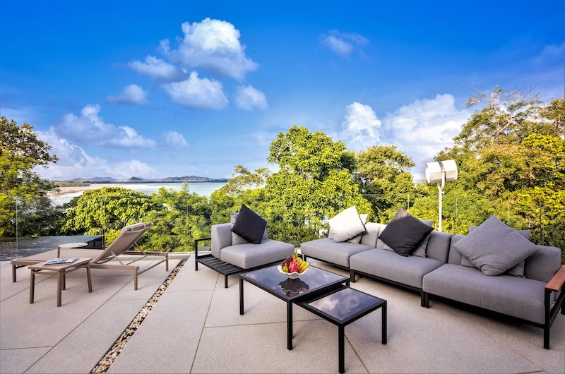 Villa Assava Outdoor Living Area | Cape Yamu, Phuket