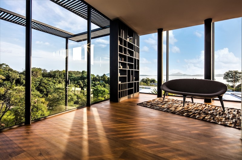 Villa Assava Seating | Cape Yamu, Phuket