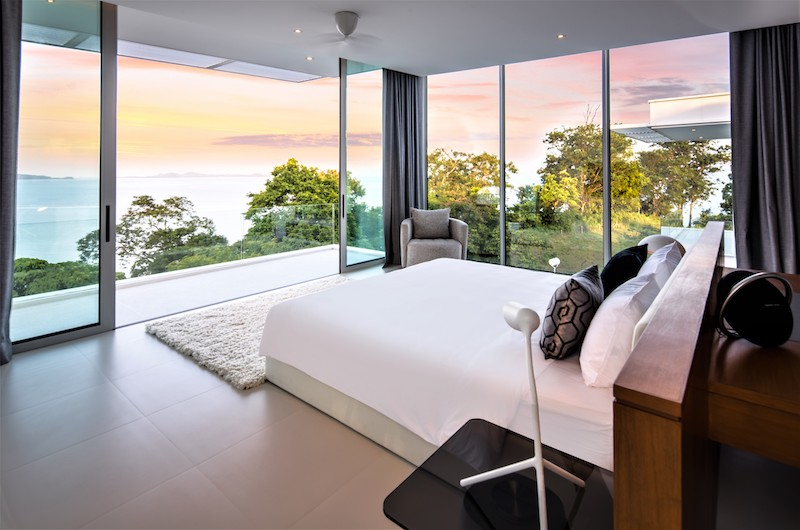 Villa Assava Bedroom One with Balcony | Cape Yamu, Phuket