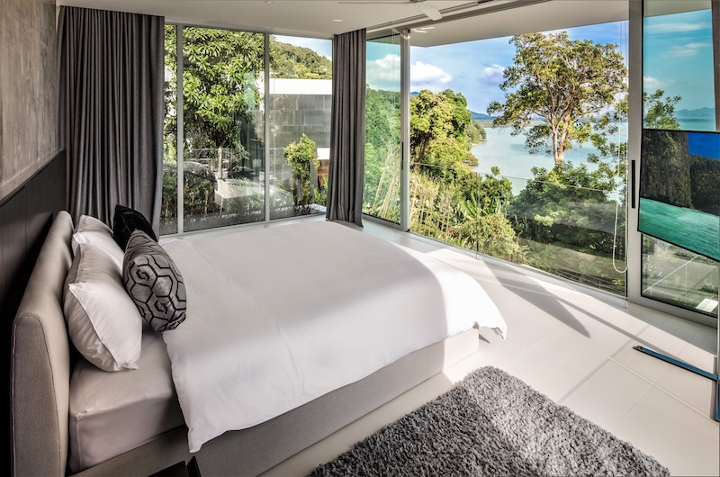 Villa Assava Spacious Bedroom Side | Cape Yamu, Phuket
