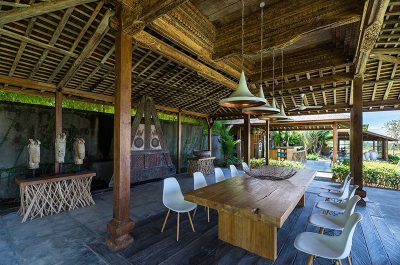 Alami Boutique Villas Four Bedroom Dining Area | Tabanan, Bali