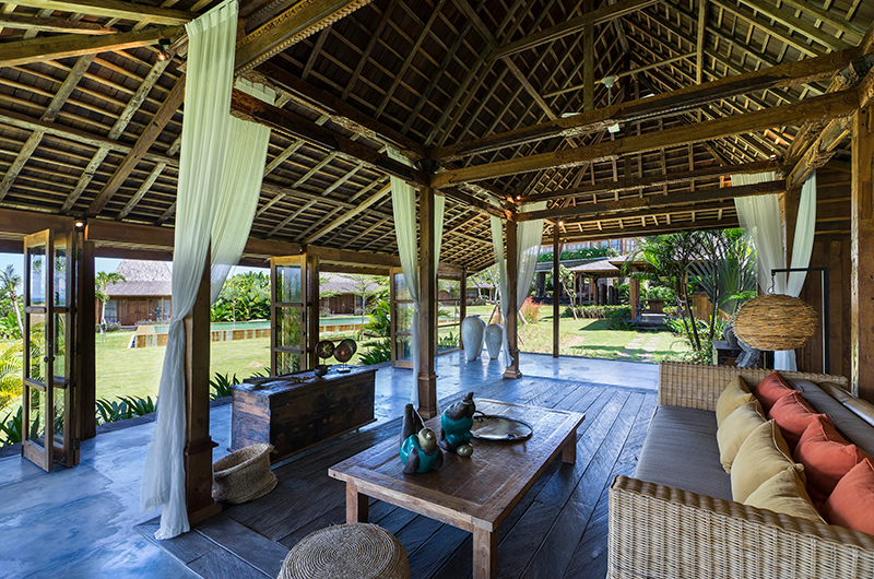 Alami Boutique Villas Four Bedroom Seating Area | Tabanan, Bali