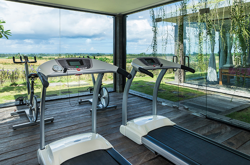 Alami Boutique Villas Six Bedroom Gym Area | Tabanan, Bali
