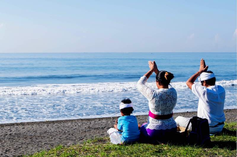 Bali Beach Ceremony