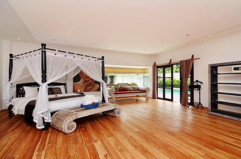 Candi Kecil Villas Master Bedroom   Ubud, Bali