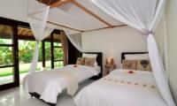 Candi Kecil Villas Twin Bedroom   Ubud, Bali