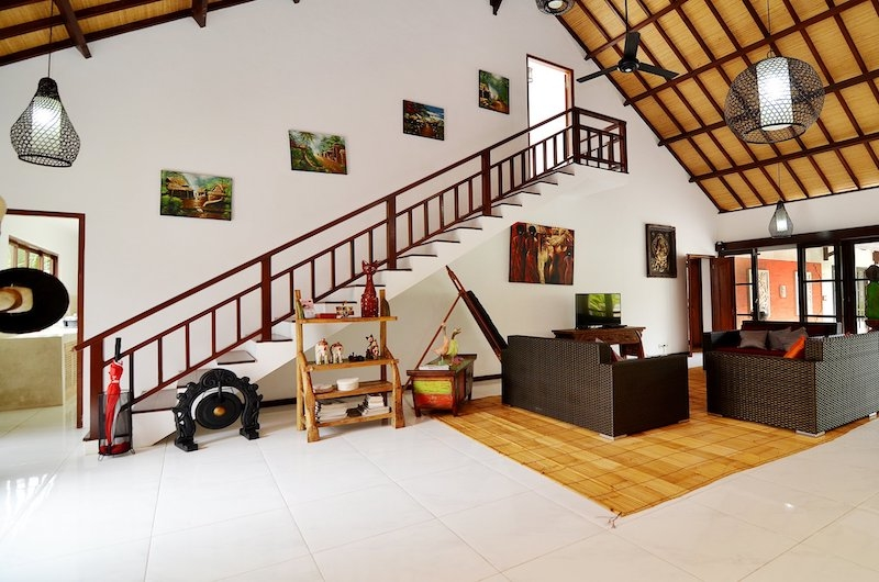 Candi Kecil Villas Living Area   Ubud, Bali
