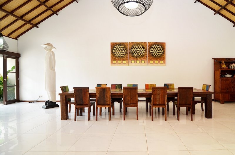 Candi Kecil Villas Dining Area   Ubud, Bali