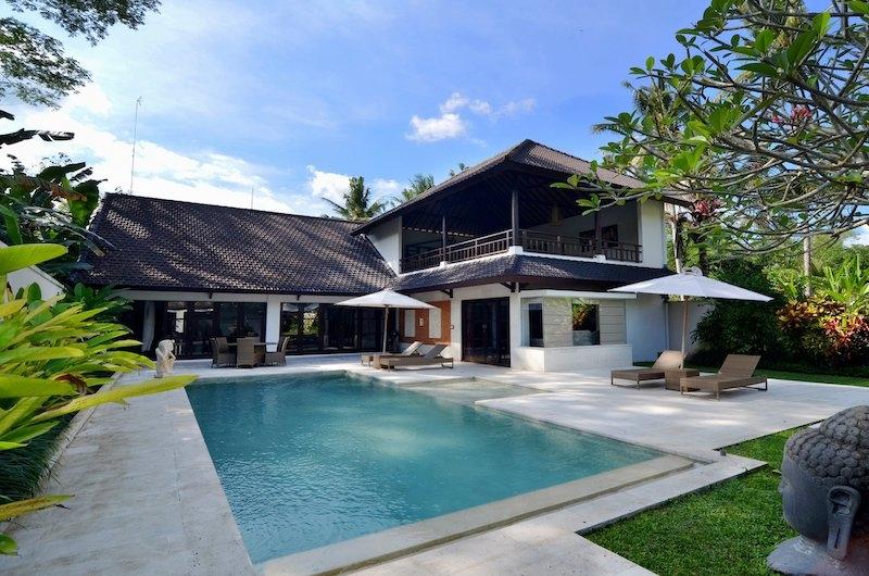 Candi Kecil Villas Swimming Pool Area   Ubud, Bali