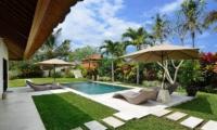 Candi Kecil Villas Pool Area   Ubud, Bali