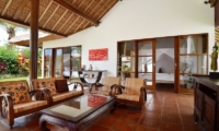 Candi Kecil Villas Seating Area   Ubud, Bali