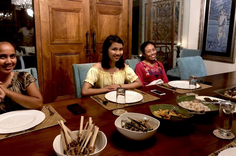 Bali Gianyar Jeeva Saba Dinner