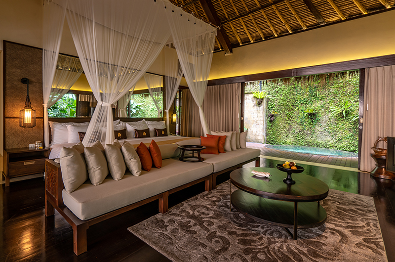 Hidden Palace Bedroom Two Area   Ubud, Bali