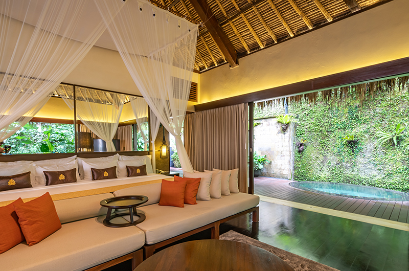 Hidden Palace Open Plan Bedroom Area | Ubud, Bali