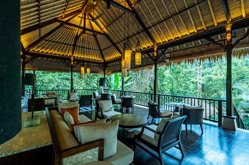 Hidden Palace Open Plan Seating Area   Ubud, Bali