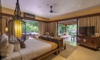 Hidden Palace Spacious Bedroom with TV | Ubud, Bali