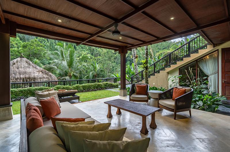 Hidden Palace Open Plan Seating Area | Ubud, Bali