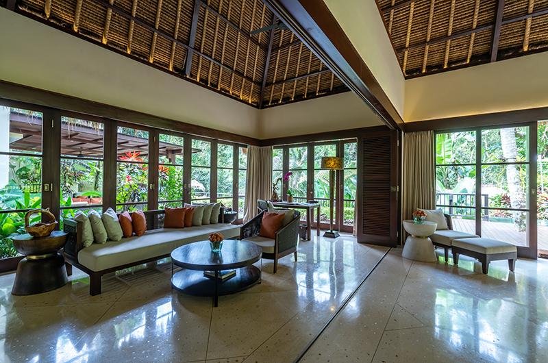 Hidden Palace Indoor Seating | Ubud, Bali
