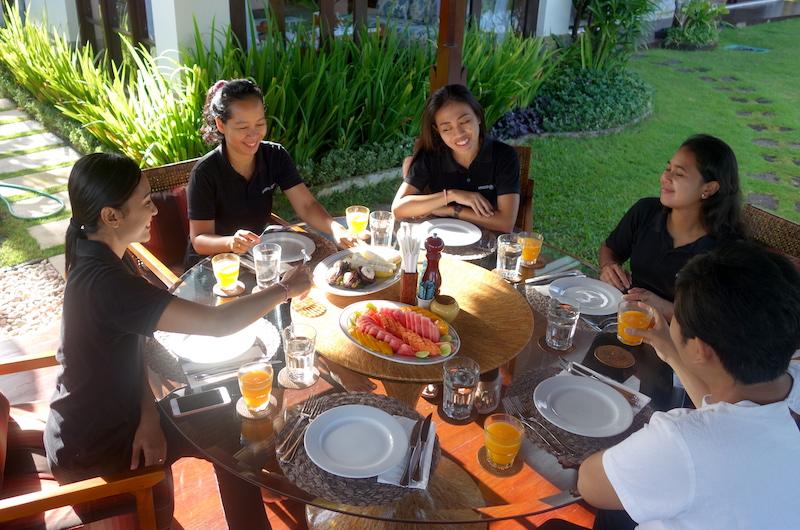 Bali Jimbaran Villa Impian Manis Breakfast
