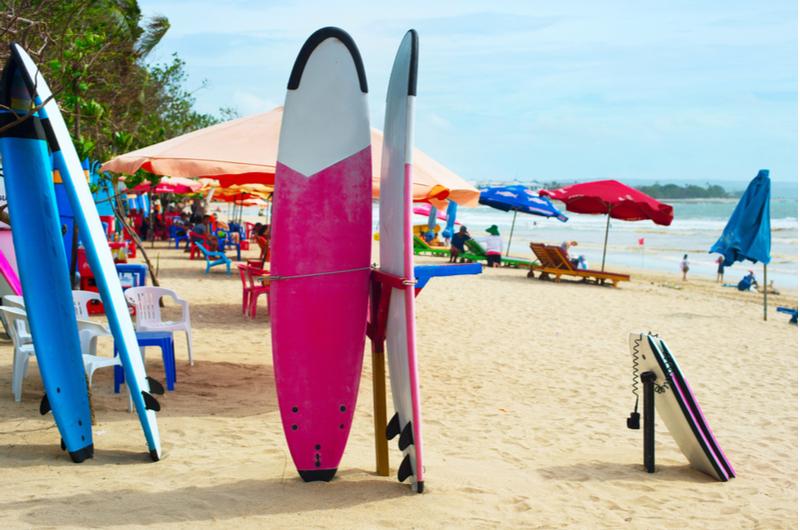 Bali Kuta Beach Surf