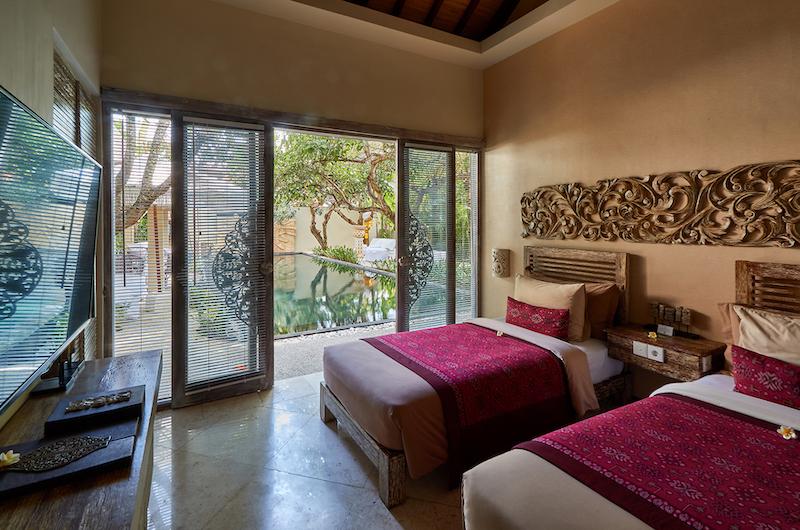 The Royal Purnama Anggrek Twin Bedroom with TV | Gianyar, Bali