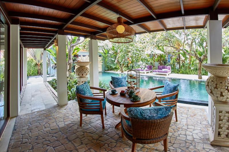 The Royal Purnama Anggrek Outside Seating | Gianyar, Bali
