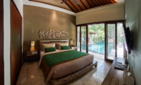 The Royal Purnama Anggrek Bedroom with Pool View | Gianyar, Bali