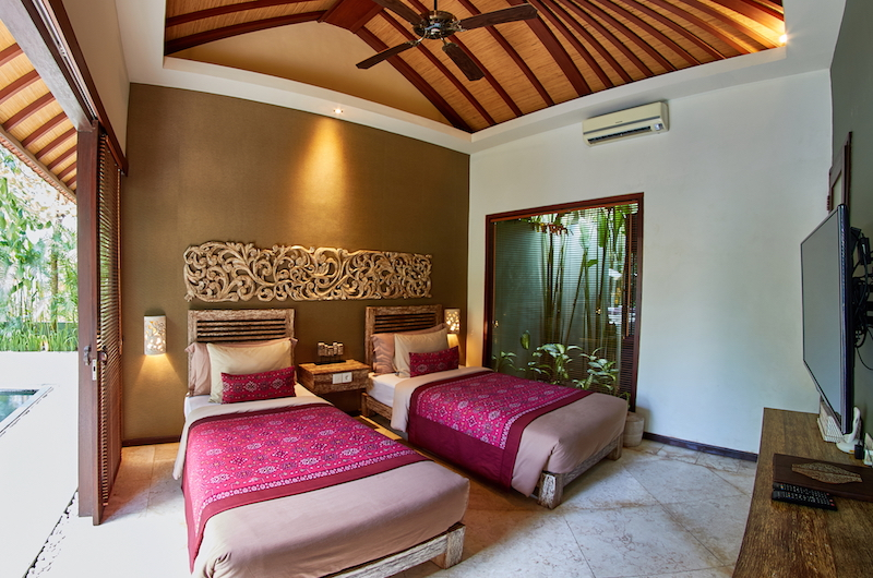 The Royal Purnama Anggrek Twin Bedroom Side | Gianyar, Bali