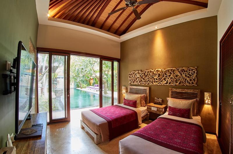 The Royal Purnama Anggrek Twin Bedroom Area | Gianyar, Bali