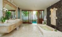 The Royal Purnama Cempaka Bathroom | Gianyar, Bali