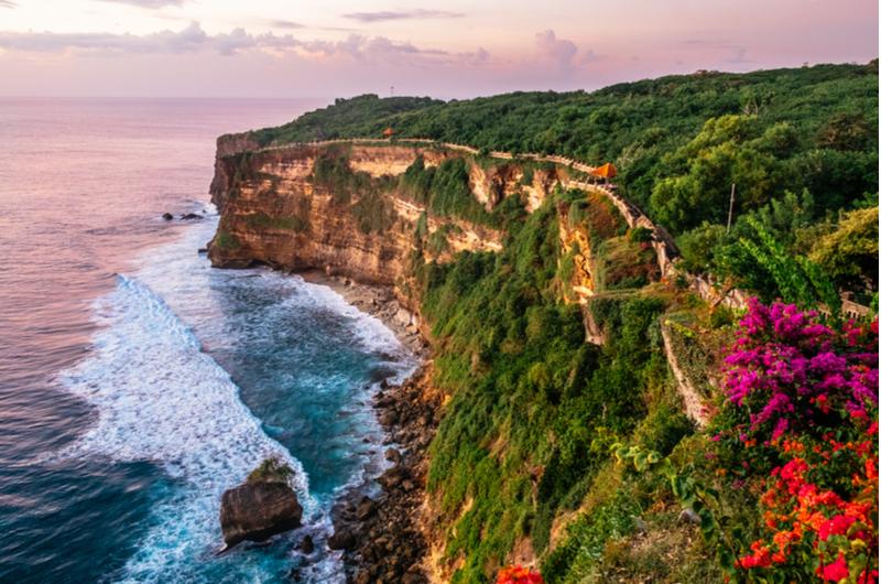 Bali Uluwatu Cliffs