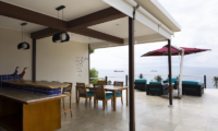 Villa Aamisha Open Plan Dining Area | Candidasa, Bali