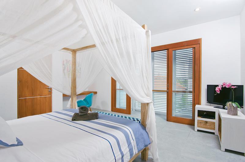 Villa Azure Bedroom with TV | Seminyak, Bali