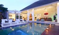 Villa Dheva Swimming Pool Area   Seminyak, Bali