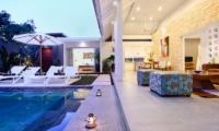 Villa Dheva Swimming Pool   Seminyak, Bali