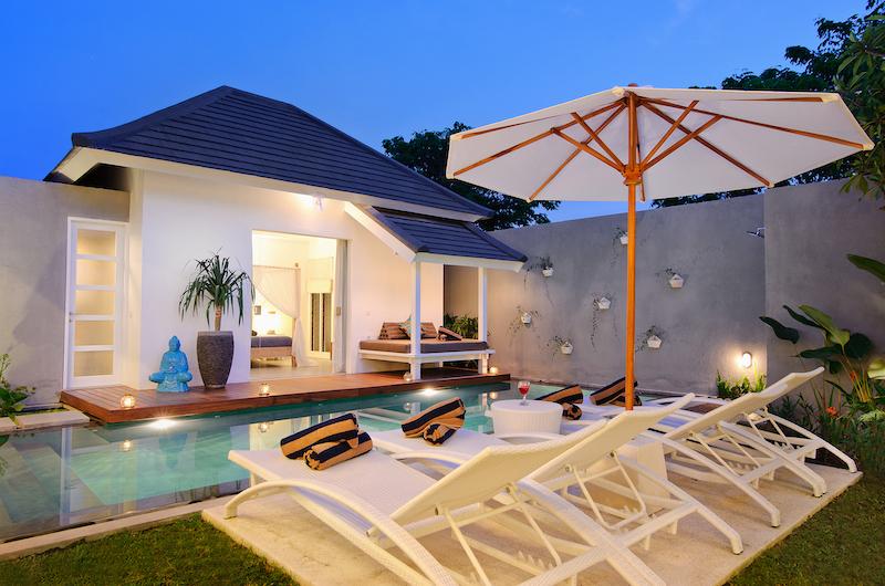 Villa Dheva Pool Area   Seminyak, Bali