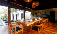 Villa Elite Cassia Dining Table Area | Canggu, Bali