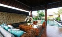 Villa Elite Cassia Seating with Pool Views | Canggu, Bali