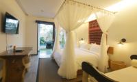 Villa Elite Cassia Bedroom Side with TV | Canggu, Bali