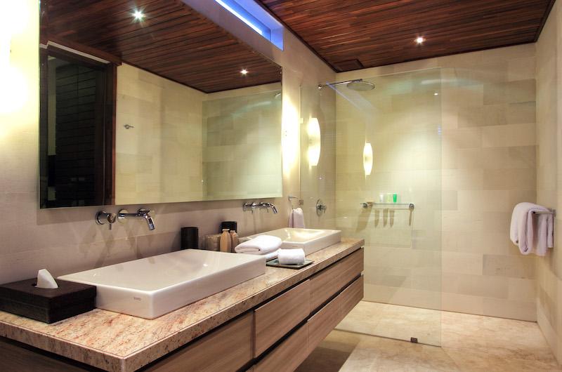 Villa Suar Tiga His and Hers Vanity | Seminyak, Bali