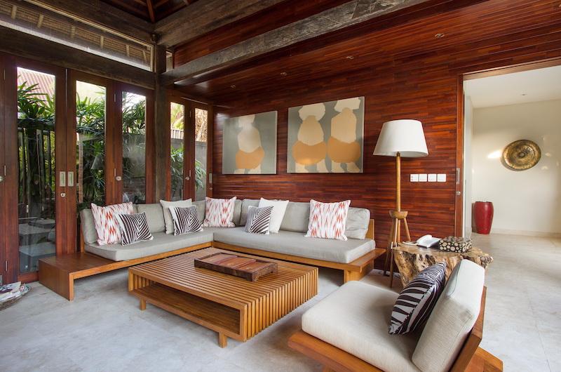 Villa Suar Tiga Indoor Seating | Seminyak, Bali