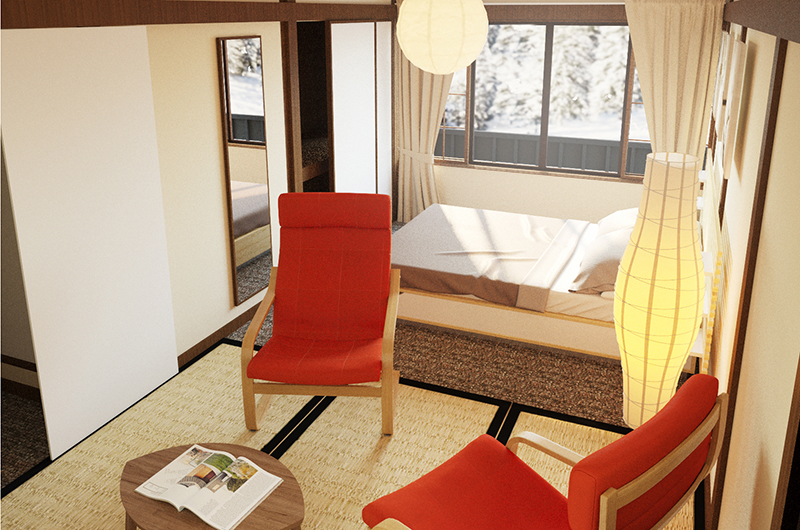 Chalet Hakuba Bedroom Eight | Hakuba, Nagano