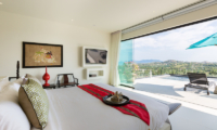Villa Danisa Bedroom with TV | Choeng Mon, Koh Samui