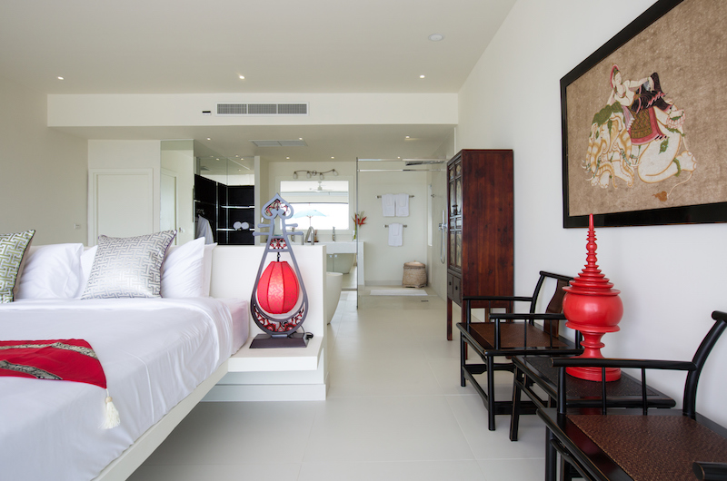 Villa Danisa Bedroom with Seating | Choeng Mon, Koh Samui